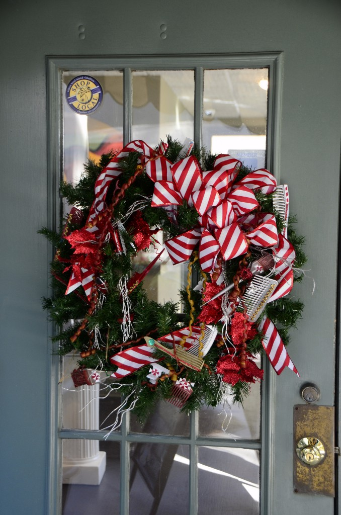 Candycane Wreath