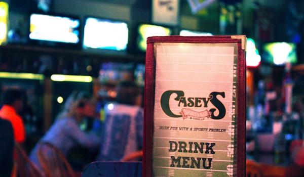 Casey's Menu
