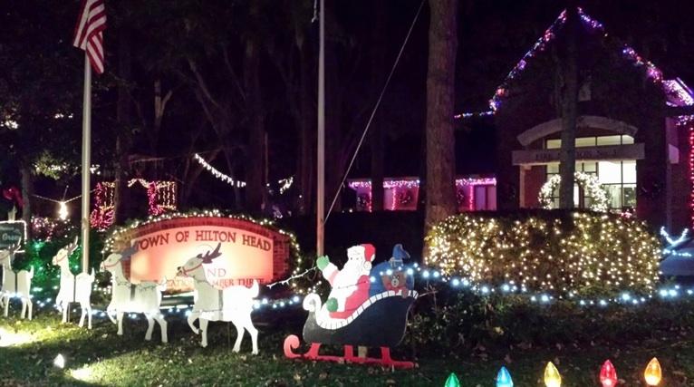 Firefighter's Christmas Lights