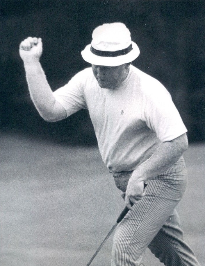 Golfer Bob Murphy