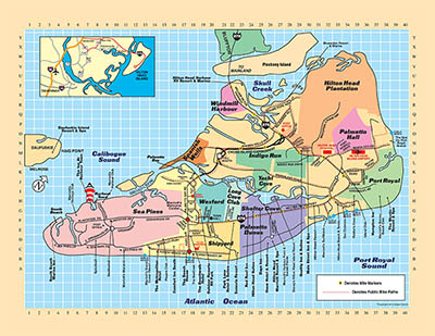 Hilton Head Map Hilton Head Island Map Giveaway   Hilton Head, SC | HiltonHead.com Hilton Head Map