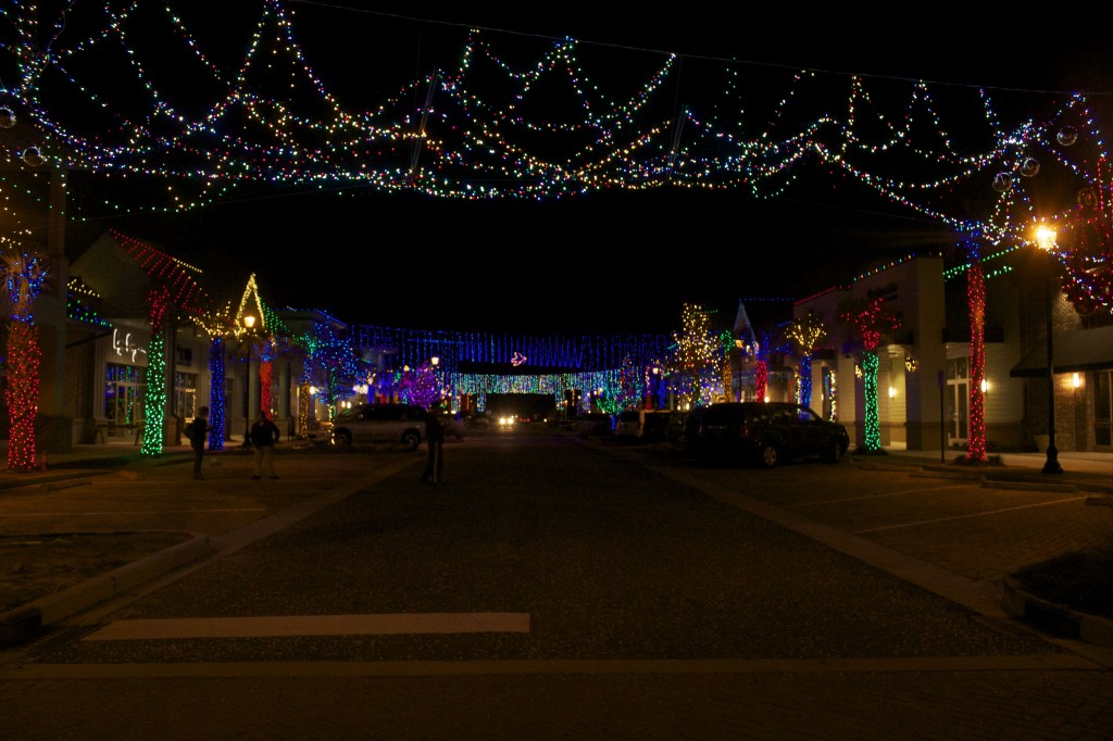 Dove Street Festival of Lights at Shelter Cove Towne Centre