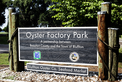 Oyster Factory Park in Bluffton