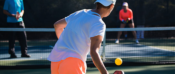 pickleball play in palmetto dunes