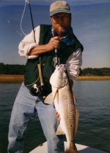 Who know's what you're going to catch when you go out on a charter with Blue Water.