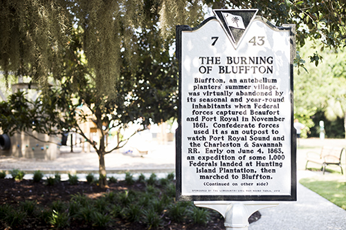 The Burning of Bluffton