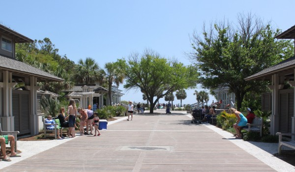 Coligny Beach Park on Hilton Head Island