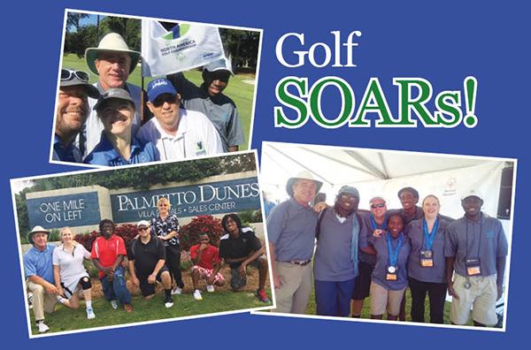 golf soars