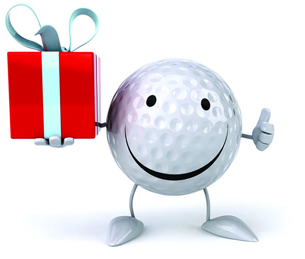 gift of golf - ball