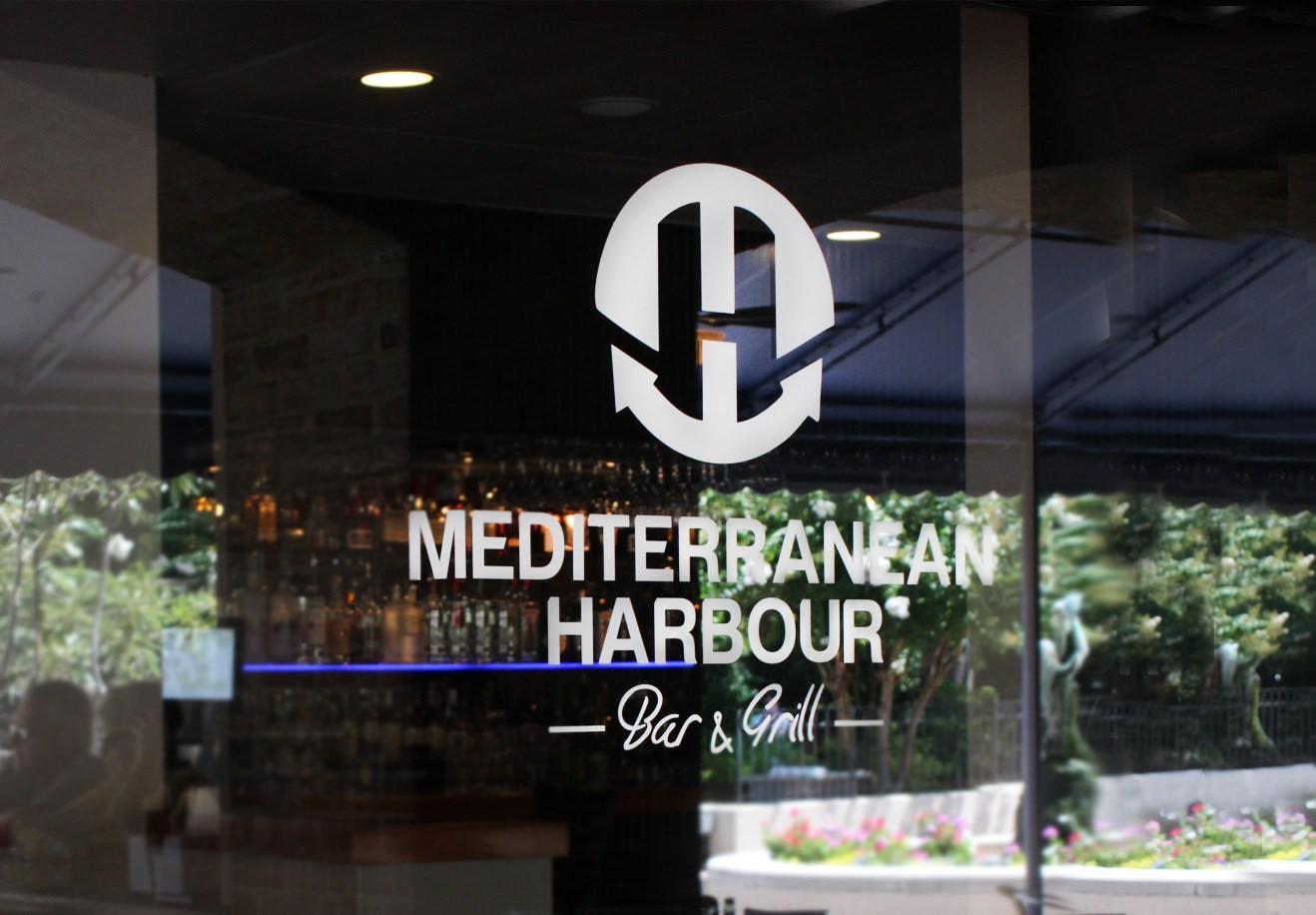 mediterranean harbour window