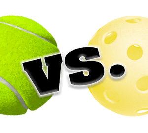 tennis v pball