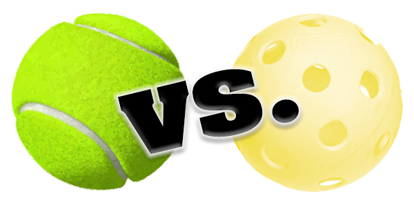 tennis versus pickleball