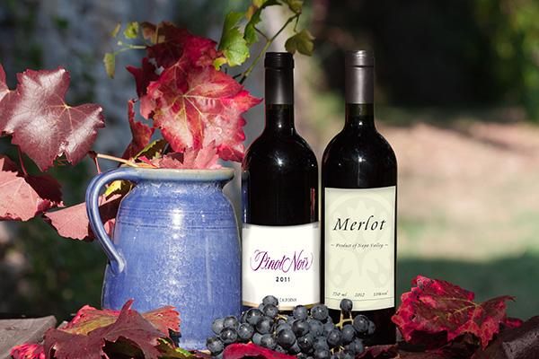 merlot and pinot noir